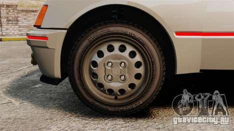 Peugeot 205 Turbo 16 для GTA 4 вид сзади