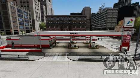 АЗС Pertamina для GTA 4 второй скриншот