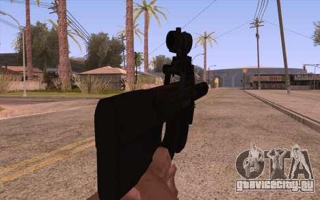 P90 ACOG с фонариком для GTA San Andreas третий скриншот