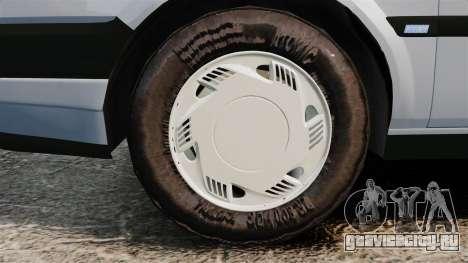 Fiat Tempra SX.A v2.0 для GTA 4 вид сзади