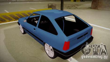 Chevrolet Kadett для GTA San Andreas вид сзади