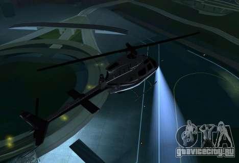 OH-58 Kiowa Police для GTA San Andreas вид справа