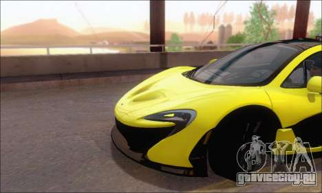 McLaren P1 EPM для GTA San Andreas вид сбоку