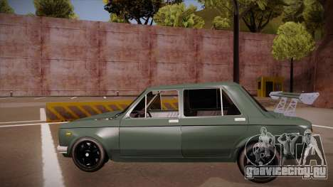 Zastava 128 Turbo для GTA San Andreas вид сзади