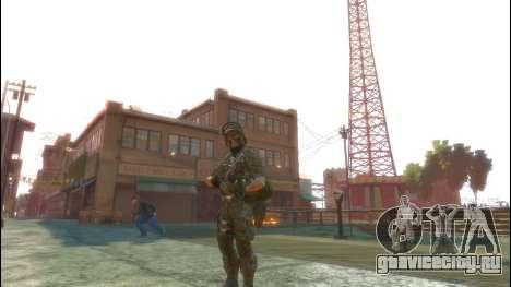 Русский солдат v 1.0 для GTA 4 третий скриншот