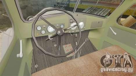 ЗИЛ-157 Бензовоз для GTA 4 вид изнутри