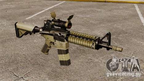 Автоматический карабин М4 CQBR v1 для GTA 4