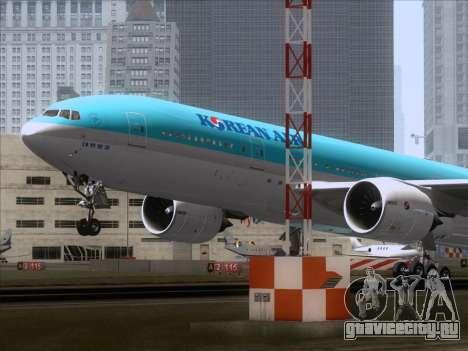 Boeing 777-2B5ER Korean Air для GTA San Andreas