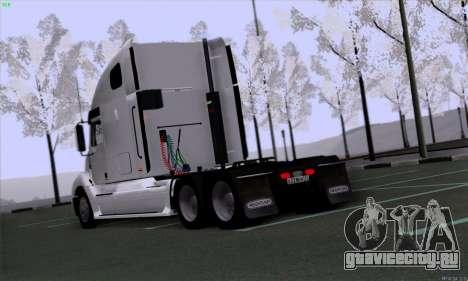 Freightliner Columbia для GTA San Andreas вид справа