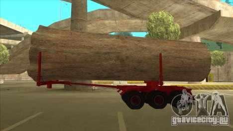 1-ый полуприцеп-лесовоз к Hayes H188 для GTA San Andreas