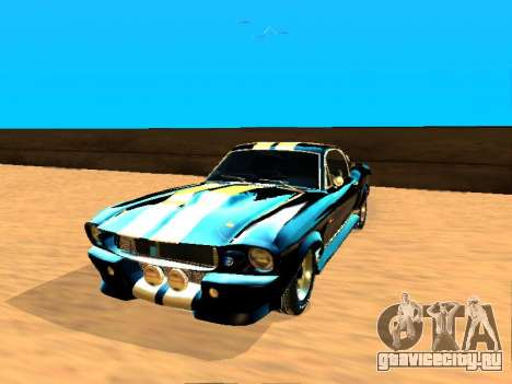 Ford Shelby GT-500E Eleanor для GTA San Andreas