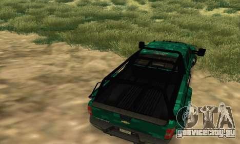 Chevrolet Silverado 3500 Military для GTA San Andreas вид справа