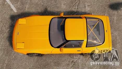 Chevrolet Corvette C4 1996 v1 для GTA 4 вид справа