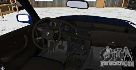 BMW 5-er E28 Бродяга для GTA San Andreas вид сзади слева