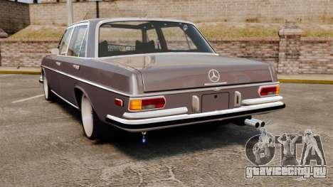 Mercedes-Benz 300 SEL 1971 для GTA 4 вид сзади слева
