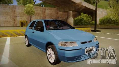 FIAT Palio EX 2003 для GTA San Andreas вид слева