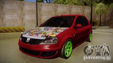 Dacia Logan Hellaflush для GTA San Andreas