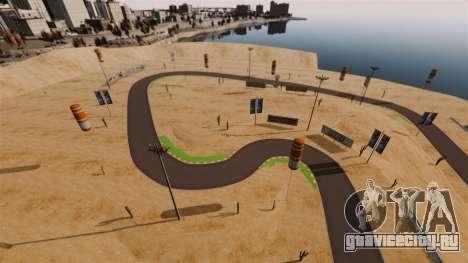 Локация DesertDrift ProStreetStyle для GTA 4 седьмой скриншот