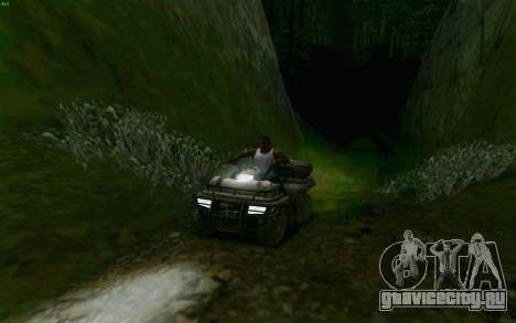 ATV из Medal of Honor для GTA San Andreas вид сбоку