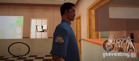 Cadet Of The Police Academy для GTA San Andreas второй скриншот