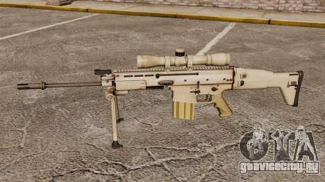Автоматическая винтовка Mk 17 SCAR-H для GTA 4 третий скриншот