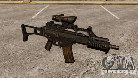 Автомат HK G36C v3 для GTA 4