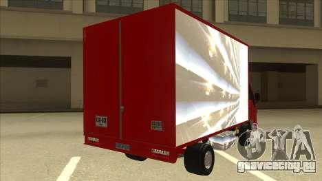 JAC 1040 для GTA San Andreas вид справа