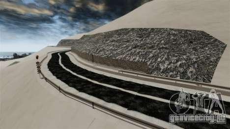 Снежная локация Sakina для GTA 4 седьмой скриншот