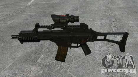 Автомат HK G36C v3 для GTA 4 третий скриншот
