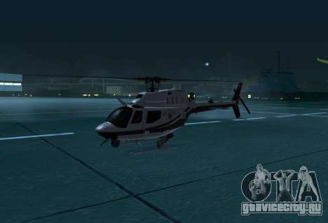 OH-58 Kiowa Police для GTA San Andreas вид слева