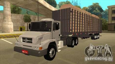 Mrecedes-Benz LS 2638 Canaviero для GTA San Andreas вид сзади