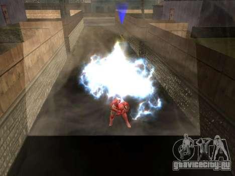 Удар железного человека о землю для GTA San Andreas четвёртый скриншот