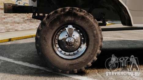 ЗИЛ-157 Бензовоз для GTA 4 вид сзади