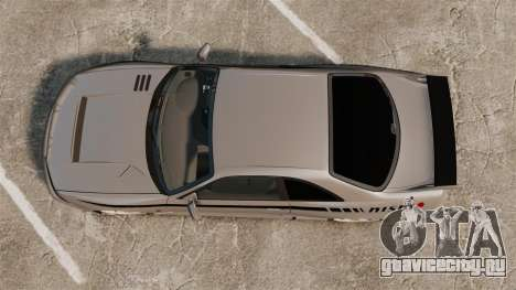 Nissan Skyline R33 NISMO 400R для GTA 4 вид справа