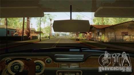 Fasthammer Police SF для GTA San Andreas вид изнутри