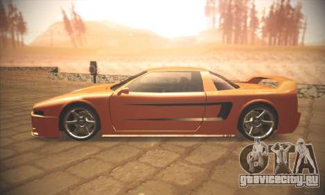 Infernus One для GTA San Andreas вид слева