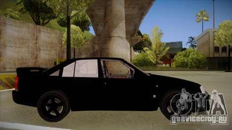 Lotus Carlton для GTA San Andreas вид сзади слева