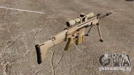 Автоматическая винтовка Mk 17 SCAR-H для GTA 4 второй скриншот