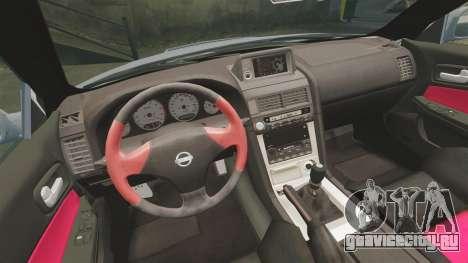Nissan Skyline R34 GT-R NISMO Z-tune для GTA 4 вид изнутри