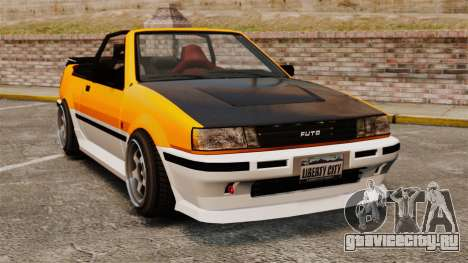 Кабриолет версия Futo для GTA 4