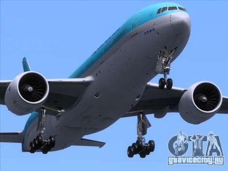 Boeing 777-2B5ER Korean Air для GTA San Andreas салон
