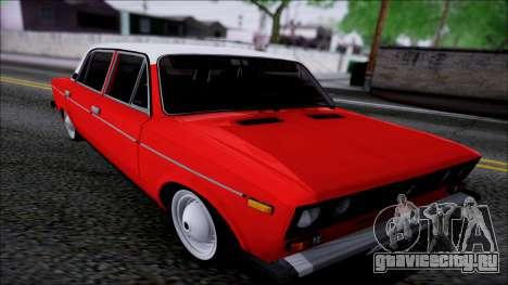 ВАЗ 2106 Ретро для GTA San Andreas вид изнутри