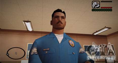 Cadet Of The Police Academy для GTA San Andreas третий скриншот