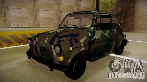 Zastava 750 Camo для GTA San Andreas