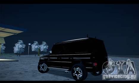 Mercedes-Benz G500 Gelandewagen для GTA San Andreas вид слева