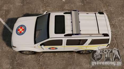 Nissan Pathfinder HGSS [ELS] для GTA 4 вид справа