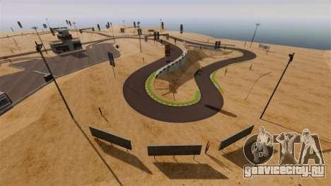 Локация DesertDrift ProStreetStyle для GTA 4 третий скриншот