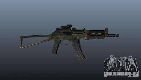 Автомат АКС74У v2 для GTA 4 третий скриншот