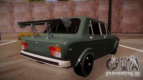 Zastava 128 Turbo для GTA San Andreas вид сзади слева