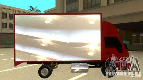 JAC 1040 для GTA San Andreas вид сзади слева